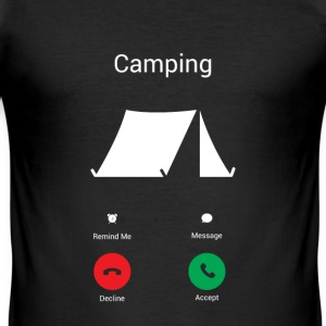 Camping Les Gets ! Tee shirts - Tee shirt près du corps Homme