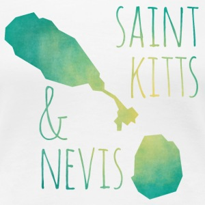 Saint Kitts and Nevis T-Shirts - Frauen Premium T-Shirt