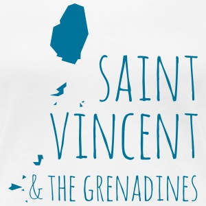 Saint Vincent T-Shirts - Frauen Premium T-Shirt