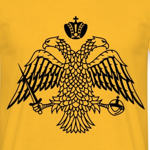 Athos Coat of Arms T-Shirts - Männer T-Shirt