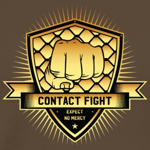 Contact Fight Gold - Männer Premium T-Shirt