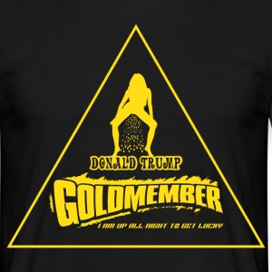 Donald Trump Goldmember - Golden Shower T-Shirts - Männer T-Shirt