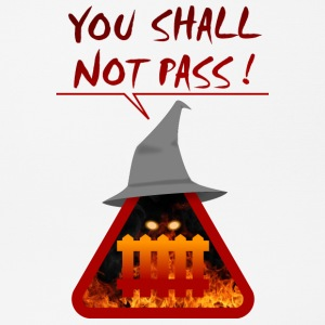 you shall not pass - Tapis de souris (format paysage)