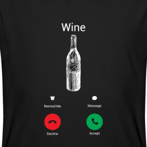 Wine gets me! T-Shirts - Men's Organic T-shirt