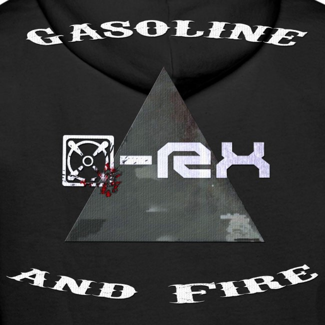 [x]-Rx Gasoline and Fire Hoodie