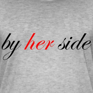 by her side - Männer Vintage T-Shirt