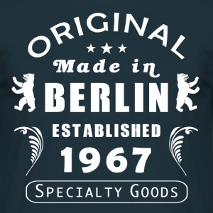 made in berlin 1967 - Männer T-Shirt