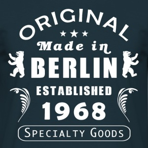 made in berlin 1968 - Männer T-Shirt
