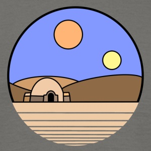 Tatooine Planet T-Shirts - Männer T-Shirt