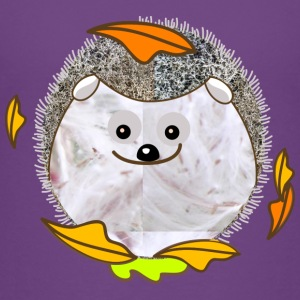 plysch hedgehog - Premium-T-shirt barn