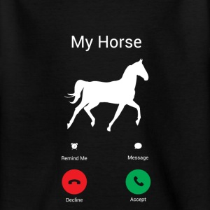 My horse gets! Shirts - Teenage T-shirt