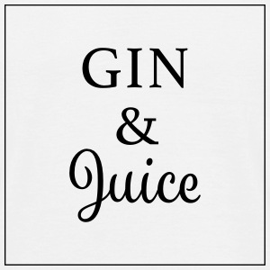 gin and juice - Männer T-Shirt