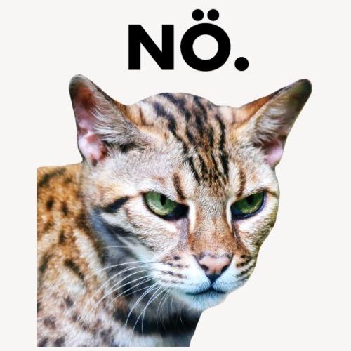 Nö. Grummelige Katze