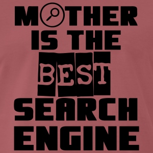 Mother - Search Engine T-Shirts - Men's Premium T-Shirt