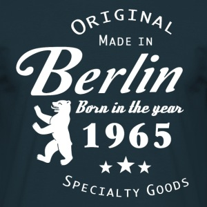 born in 1965 - Männer T-Shirt