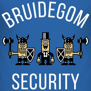 Bruidegom Security Vikingen (Vrijgezellenfeest, N) T-shirts - slim fit T-shirt