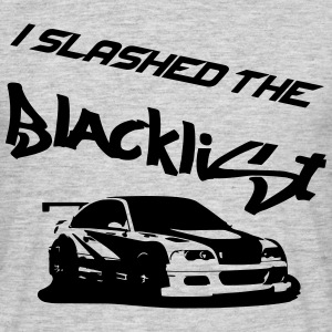 Slashed the Blacklist T-Shirts - Männer T-Shirt