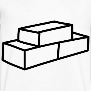 Brick T-Shirts - Men's V-Neck T-Shirt
