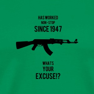 AK47 Whats your Excuse - Men's Premium T-Shirt