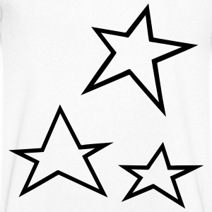 Star T-Shirts - Men's V-Neck T-Shirt