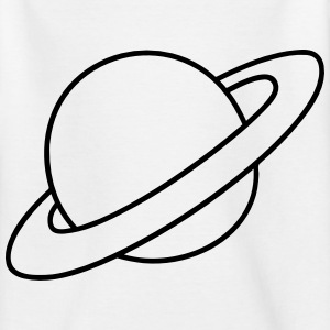 Planet mit Ringen T-Shirts - Teenager T-Shirt