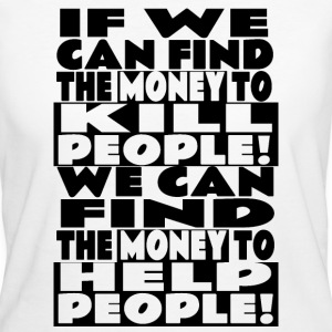 Power of money T-Shirts - Women's Organic T-shirt