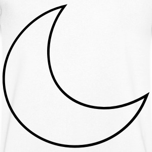 Moon T-Shirts - Men's V-Neck T-Shirt