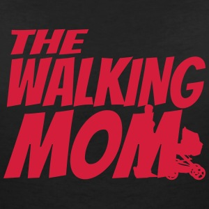 THE WALKING MOM T-shirts - Dame-T-shirt med V-udskæring