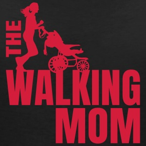 THE WALKING MOM2 T-Shirts - Frauen T-Shirt mit V-Ausschnitt