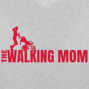 THE WALKING MOM3 T-Shirts - Frauen T-Shirt mit V-Ausschnitt