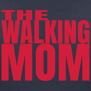THE WALKING MOM10 T-Shirts - Women's V-Neck T-Shirt