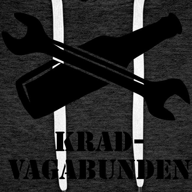 SCHRAUBENSCHLÜSSEL & PULLE - Kapuzenpulli (schwarzer Aufdruck)