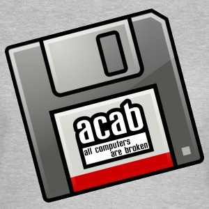 acab computers T-Shirts - Frauen T-Shirt