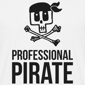 Professional Pirate - Männer T-Shirt