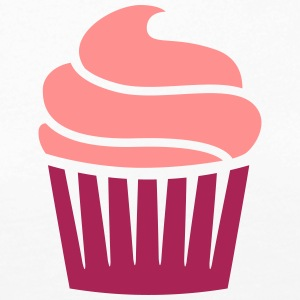 cupcake two-colored Skjorter med lange armer - Premium langermet T-skjorte for kvinner