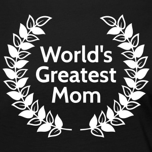 Greatest Mom plus grande maman Tee shirts manches longues - T-shirt manches longues Premium Femme