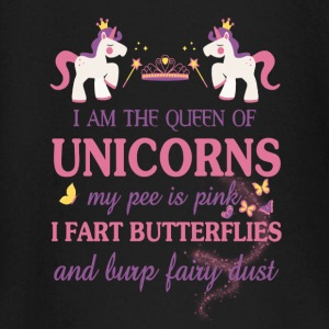 I am the Queen of the unicorns Baby Long Sleeve Shirts - Baby Long Sleeve T-Shirt