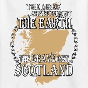Get Scotland the brave Shirts - Teenage T-shirt