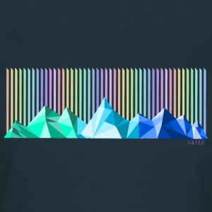 Mountain rainbow womens dark - Women's T-Shirt