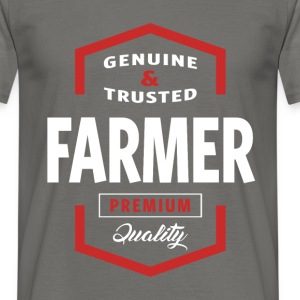 Genuine Farmer T-shirt Gift - Men's T-Shirt