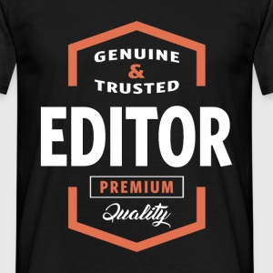Genuine Editor T-shirt Gift - Men's T-Shirt