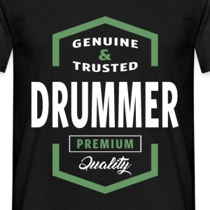 Genuine Drummer T-shirt Gift - Men's T-Shirt
