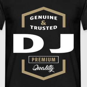 Genuine DJ T-shirt Gift - Men's T-Shirt