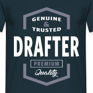 Genuine Drafter T-shirt Gift - Men's T-Shirt