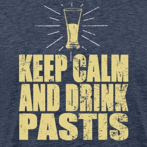 Keep Calm And Drink Pastis Tee shirts - T-shirt Premium Homme