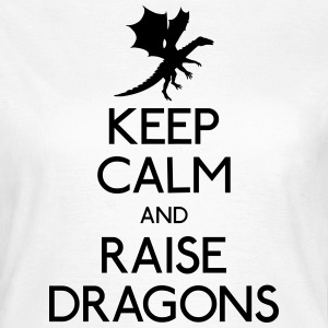 Keep calm dragons T-Shirts - Women's T-Shirt