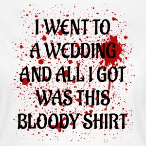 Bloody Wedding black T-Shirts - Women's T-Shirt