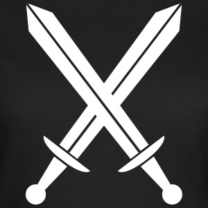 Crossed swords Tee shirts - T-shirt Femme