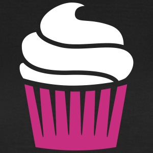 cupcake two-colored T-Shirts - Women's T-Shirt