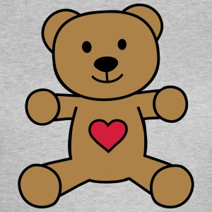 teddy bear with heart teddy beer met hart T-shirts - Vrouwen T-shirt